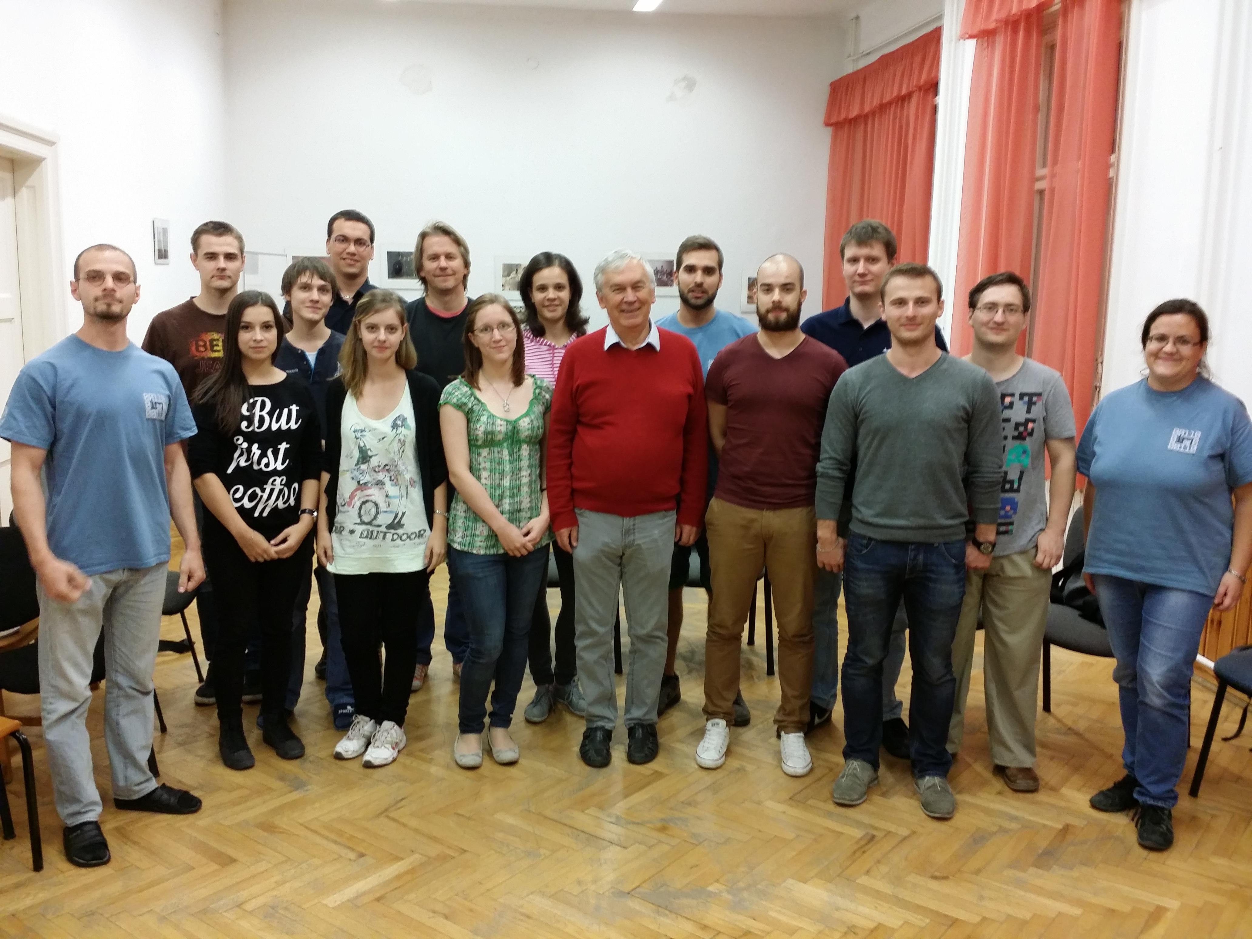 2015/2016 első féléves nyitógyűlés és Csirik János tanár úr búcsúztatója